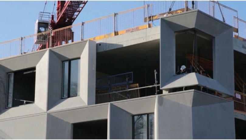 Precast Fa 231 Ade Fins Precast Concrete Facade Panels